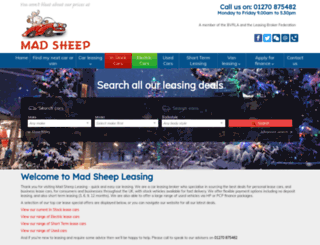 mad-sheep.co.uk screenshot