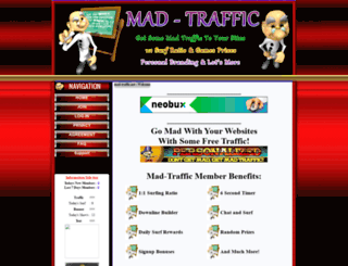 mad-traffic.net screenshot