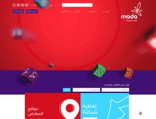 mada.jo screenshot