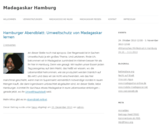 madagaskar-hamburg.de screenshot