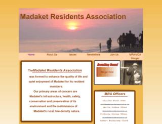 madaketresidentsassociation.org screenshot