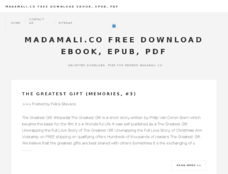 madamali.co screenshot