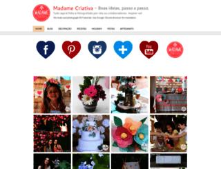 madamecriativa.com.br screenshot