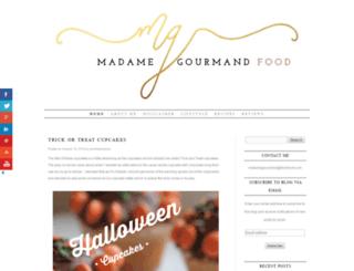 madamegourmand.co.uk screenshot