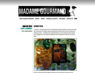 madamegourmand.wordpress.com screenshot