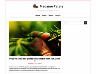 madamepatate.fr screenshot