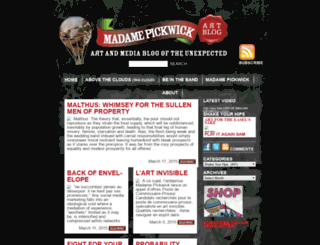madamepickwickartblog.com screenshot