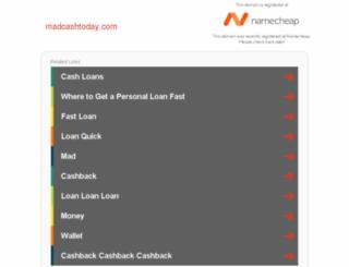 madcashtoday.com screenshot