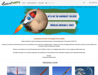 madcowrocketry.com screenshot