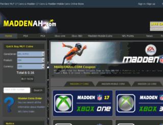 maddenah.com screenshot