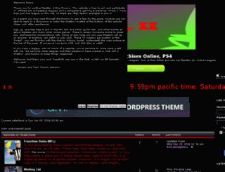 maddenonline.bigboardlive.com screenshot