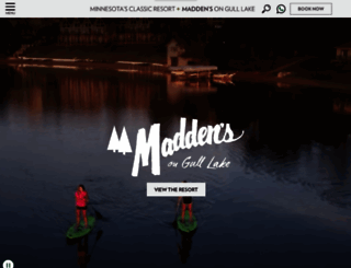 maddens.com screenshot