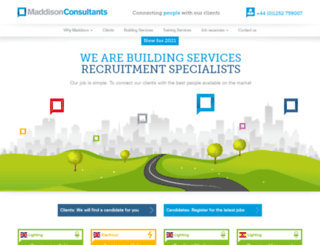maddisonconsultants.co.uk screenshot