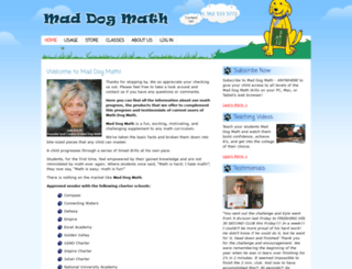 maddogmath.com screenshot