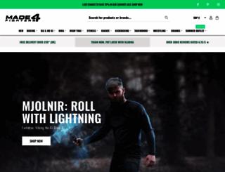 made4fighters.com screenshot