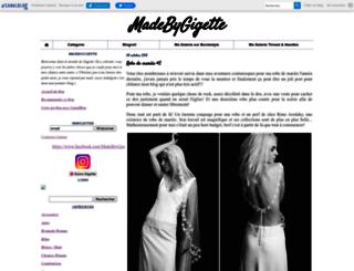 madebygigette.canalblog.com screenshot