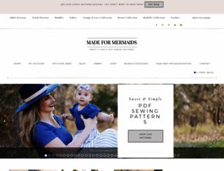 madeformermaids.com screenshot