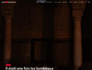 madein-marrakech.com screenshot