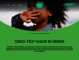 madeingreen.com screenshot