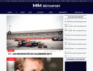 madeinmotorsport.com screenshot