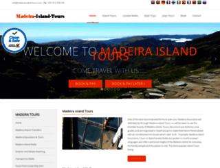 madeira-island-tours.com screenshot