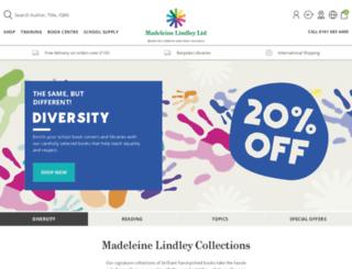 madeleinelindley.com screenshot