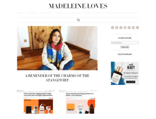 madeleineloves.com screenshot
