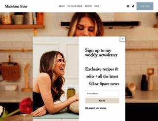 madeleineshaw.com screenshot