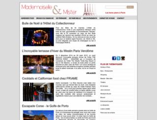 mademoiselle-et-mister.blogspot.fr screenshot