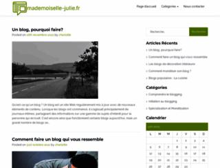 mademoiselle-julie.fr screenshot