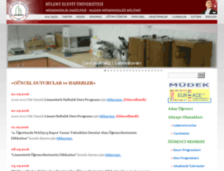 maden.karaelmas.edu.tr screenshot