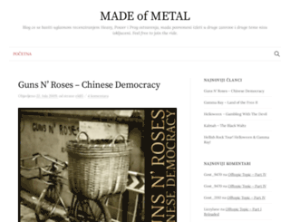 madeofmetal.blogger.ba screenshot