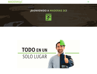 maderas3c.com screenshot