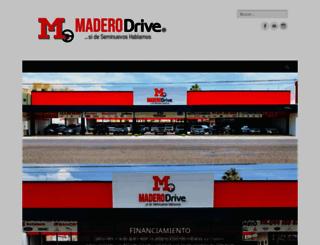 maderodrive.com screenshot