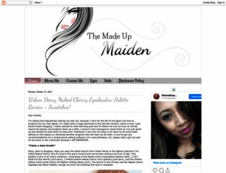 madeupmaiden.blogspot.com.au screenshot