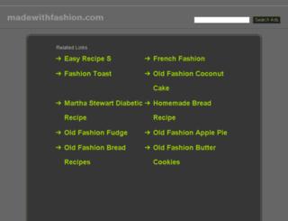 madewithfashion.com screenshot