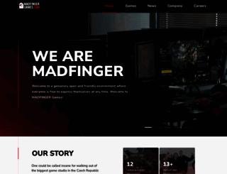 madfingergames.com screenshot