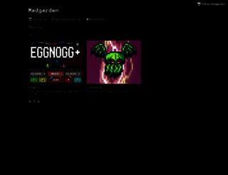 madgarden.itch.io screenshot