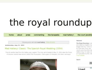 madhattery.royalroundup.com screenshot