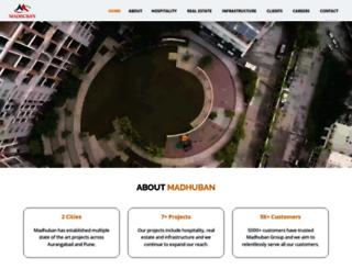 madhuban.biz screenshot