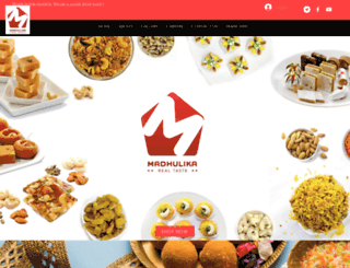 madhulikaonline.com screenshot