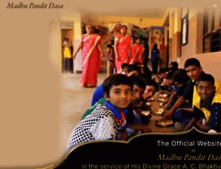 madhupanditdas.com screenshot