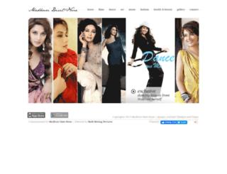 madhuridixit-nene.com screenshot