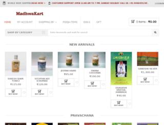 madhwakart.org screenshot