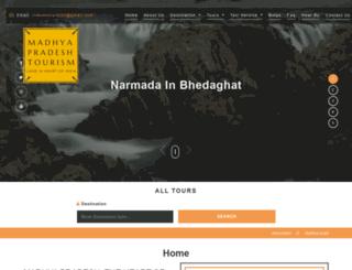 madhya-pradesh-tourism.com screenshot