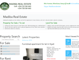 madibarealestate.com screenshot