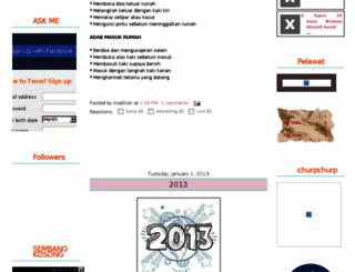 madihah87.blogspot.com screenshot