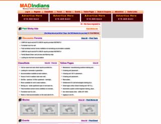 madindians.com screenshot