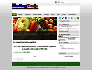 madingkerja.blogspot.com screenshot