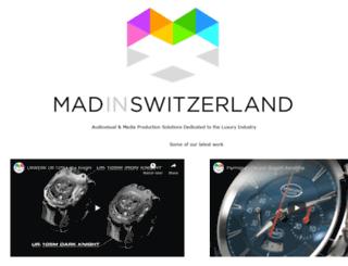 madinswitzerland.com screenshot